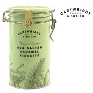 Cartwright&Butler カートライト&バトラー 塩キャラメルビスケット 6缶 10041054 クッキー C&B イギリス 輸入菓子 ビスケット お菓子