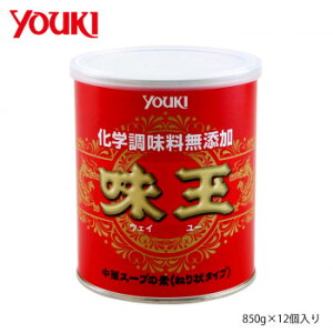 YOUKI ユウキ食品 化学調味料無添加味玉 850g×12個入り 212114 調味料 お徳用 まとめ買い