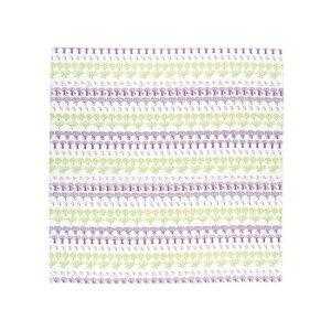 ※2020年12月下旬入荷分予約受付中 山田繊維 風呂敷(ふろしき) 100 MOTTAINAI アクアドロップふろしき 森 パープル 10248-301 PP袋入
