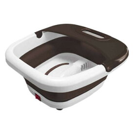 ROOMMATE 折りたたみ式フットバス RM-105MA-BR リラックス 足湯器 保温 フットケア あったかグッズ 足浴器