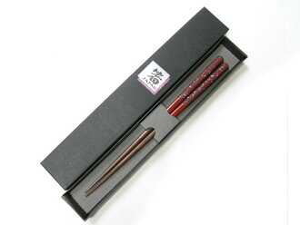 Wakasa lacquer chopsticks seashell lacquer Red