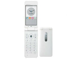 「新品 未使用品 白ロム」au simロック解除済 au KYF31 SWA GRATINA 4G White ホワイト [携帯電話][ガラゲー]