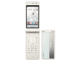 【新品 未使用 白ロム】 panasonic docomo P-01H White ホワイト ※赤ロム保証 [携帯電話][折りたたみ][ガラゲー]