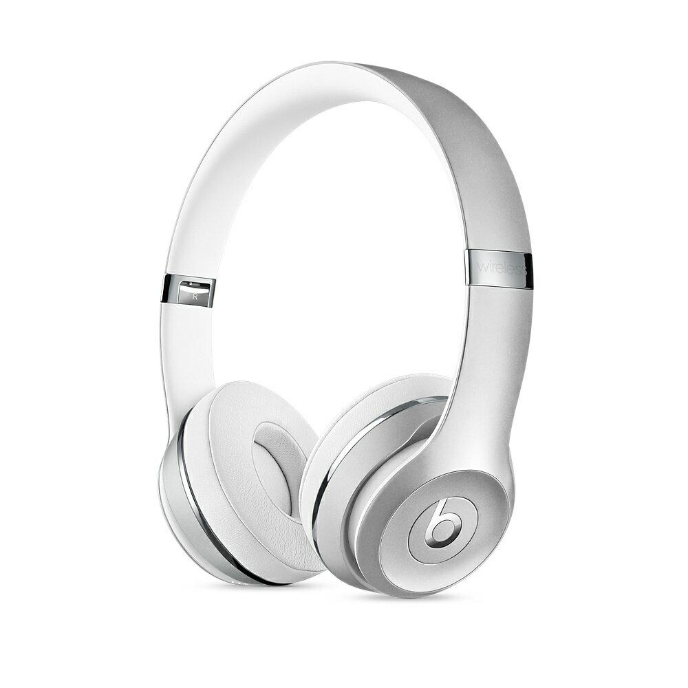 【国内正規品】Beats by Dr.Dre ワイヤレスヘッドホン Beats Solo3 Bluetooth対応 密閉型 オンイヤー Matte Silver マットシルバー MR3T2PA/A 【国内正規品】