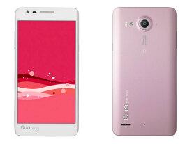 「新品 未使用品 白ロム」au simロック解除済 利用制限〇 au LGV33 Qua phone PX Pink ピンク※赤ロム永久保証