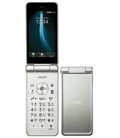 「新品 未使用品」simロック解除済み Softbank 601SH AQUOS ケータイ2 ホワイト White [白ロム][シャープ]