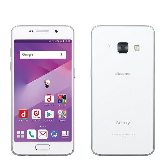 「新品 未使用品 白ロム」SIMロック解除 docomo Galaxy Feel SC-04J Moon white ムーンホワイト※赤ロム保証[サムソン/Samsung][SIMフリー]
