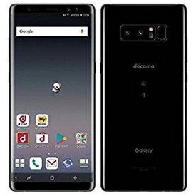 「新品 未使用品 白ロム」 SIMフリー docomo Galaxy Note8 SC-01K Midnight Black ミッドナイトブラック [ docomo SIMロック解除 ][サムソン/Samsung]