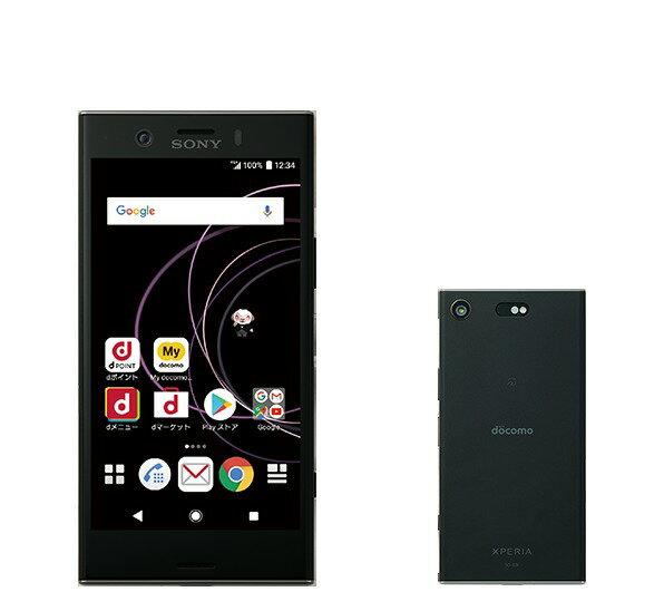 「新品 未使用品 」SIMフリー docomo XperiaTM XZ1 Compact SO-02K black ブラック ※赤ロム保証[docomo SIMロック解除] [sony/ソニー]