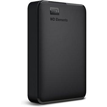 「新品 未開封品」WD Elements Portable ウエスタンデジタル WDBU6Y0040BBK-JESN 外付けHDD WD [ポータブル型 /4TB]