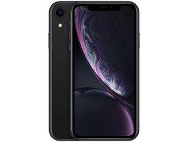 「新品 未使用 国内正規品」SIMフリー au iPhone XR 64GB Black ブラック MT002J/A [au からSIMロック解除 ][Apple/アップル][アイフォン][A1984]