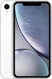 「新品 未使用 国内正規品」SIMフリー iPhone XR 128GB White ホワイト MT0J2J/A [au からSIMロック解除 ][Apple/アップル][アイフォン]