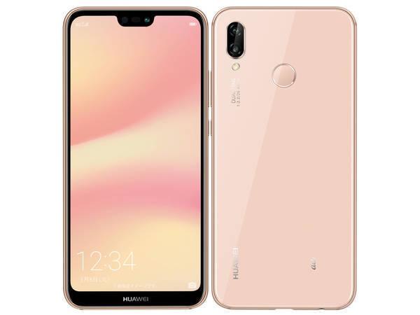 「新品 未使用品」Huawei au simロック解除済 P20 lite ピンク pink [hwv32][64gb/4gb][simfree] [simフリー]