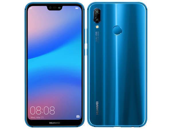 「新品 未使用品」Huawei UQ版 P20 lite hwu34 ブルー[ane-lx2j] [32gb/4gb][simfree][simフリー]