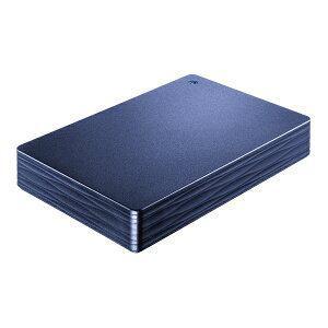 「新品 未開封品」iO DATA アイ・オー・データ HDPH-UT2DNVR USB対応 ポータブル HDD 青 2TB