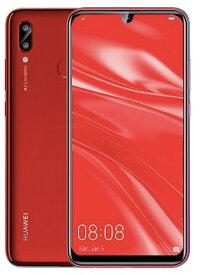 「未開封品」SIMフリー Huawei nova lite 3 Red レッド [POT-LX2J][simフリースマホ]