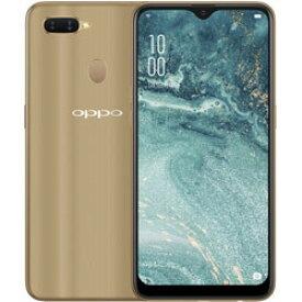 「新品・未開封品」SIMフリー OPPO AX7 ゴールド 4GB/64GB