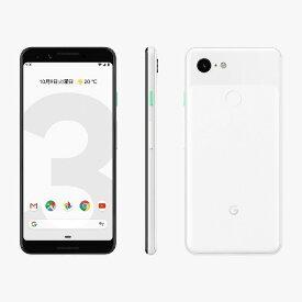 「新品 未使用品 白ロム」SIMフリー docomo Google Pixel 3 64gb clearly white ※赤ロム保証[docomo SIMロック解除]