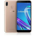 「新品 未開封品」SIMフリー ASUS ZenFone MAX M1 ZB555KL RAM3GB 32GBメモリー gold [ASUS][simfree][格安]