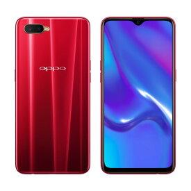 「新品・未使用品」 UQ版 SIMフリー OPPO mobile phone R17 NEO red [cph1893] [oppo][4GB/128GB][スマホ]