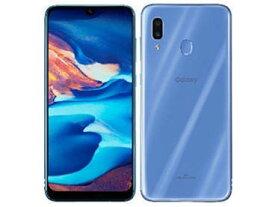 「新品 未使用品 白ロム」SIMフリー Galaxy A30 scv43 青 ※赤ロム保証[サムソン/Samsung][UQ版]