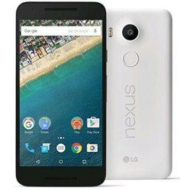 「新品 未使用品 白ロム」SIMフリー Nexus 5X 32GB LG-H791 QUARTZ ※赤ロム永久保証[LG][simfree]