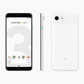 「新品 未使用品 白ロム」SIMフリー softbank Google Pixel 3 64gb Clearly White ※赤ロム保証[softbank SIMロック解除][google]