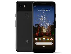 「新品 未使用品 白ロム」SIMフリー docomo Google Pixel 3a 64gb just black ※赤ロム保証[docomoからSIMロック解除][google]