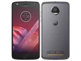 「新品 未開封品」SIMフリー モトローラ Moto Z2 Play ルナグレー [4+64GB][XT1710-09 ][スマホ」