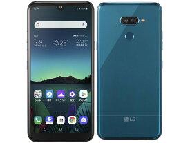「新品 未使用品 白ロム」SIMフリー LG K50 スペースブルー ※赤ロム永久保証「softbank simロック解除済」simfree