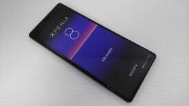 「新品 未使用品 白ロム」UQモバイル SIMフリー Xperia 8 SOV42 黒 ブラック ※赤ロム永久保証 [[sony/ソニー][Xperia][UQモバイル ]