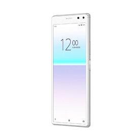「新品 未使用品 白ロム」UQモバイル SIMフリー Xperia 8 SOV42 white ホワイト ※赤ロム永久保証 [sony/ソニー][Xperia][UQモバイル ]