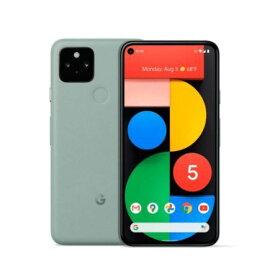 「新品 未使用品 白ロム」SIMフリー Google Pixel 5 (5G) 128gb Sorta Sage ※赤ロム保証 [正規SIMロック解除済][google][モデル:G5NZ6]