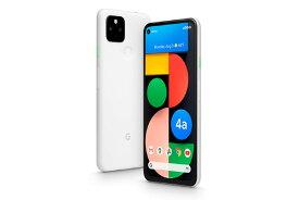「新品 未使用品 」SIMフリー Google Pixel 4a (5G) 128GB Clearly White ※赤ロム保証 [正規 SIMロック解除][Google][モデル:G025H]