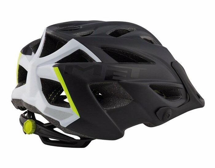 MET(メット) Terra テラ MTB Helmet ヘルメット (Matt Black/White) 自転車 ロードバイク マウンテンバイク