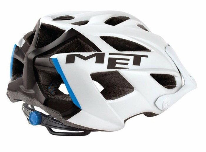 MET (メット) ヘルメット Terra テラ MTB Helmet メンズ (マットホワイト/ブラック) 自転車 マウンテンバイク