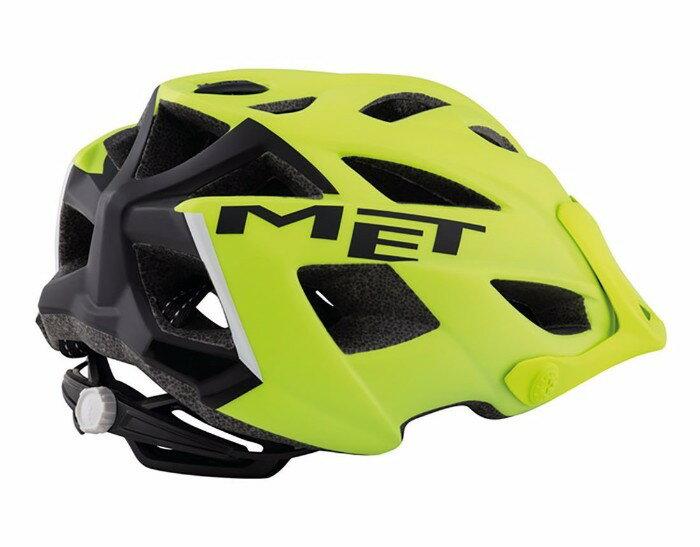 MET(メット) Terra テラ MTB Helmet ヘルメット (MattYellow/Black) 自転車 ロードバイク マウンテンバイク