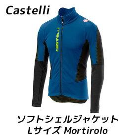 Castelli カステリ ソフトシェル ジャケット モルティーロ Mortirolo V - Softshell Jacket Lサイズ 冬 防寒 長袖 サイクル ジャージ