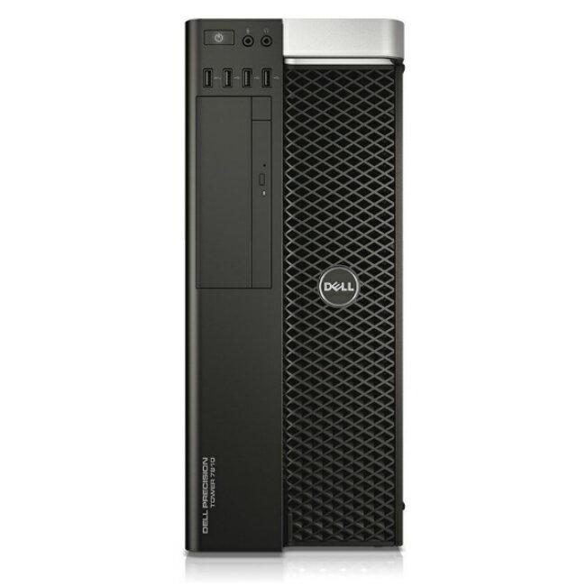 アウトレット品 新品 デスクトップPC Dell Precision Tower 7000シリーズ (7810) [メーカー保証:2020年5月下旬まで] ( Windows 10 Pro 64ビット / Xeon E5-2603 v4 x2基 / 32GB / 2000GB HDD + 256GB SSD / DVDスーパーマルチ / ディスプレイ別売 / NVIDIA Quadro K620 )