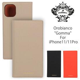 オロビアンコ OROBIANCO アイフォンケースiPhone11/11proケース Gomma ORIP-0007-11 手帳型 ブックタイプ 本革 アイフォン iPhoneケース ブランド スマホケース 手帳型ケース 携帯ケース ギフト バレンタイン 父の日