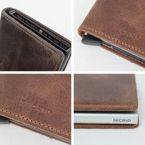 SECRIDS/SLIMVINTAGEミニウォレットシークリッドセクリッドスリムウォレットコンパクト財布カードケースカード入れ