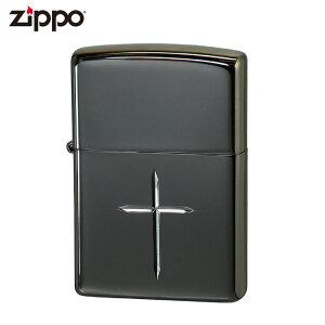 ZIPPO ZBC2-GP ブライトクロス ペア ジッポー ジッポライター ガンメタ 十字 ライター ジッポー ジッポ喫煙具 タバコ 煙草 たばこ