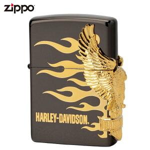 ジッポー ZIPPO ジッポライター ハーレーダビッドソン サイドメタル HDP-01 喫煙具 喫煙グッズ ライダース ライダー バイク ギフト バイク好き オイルライター おしゃれ プレゼント ギフト 父の