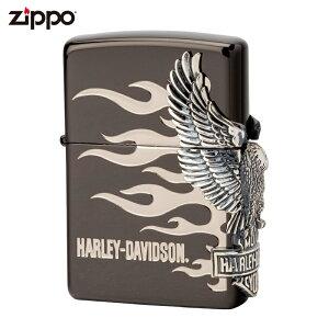 ジッポー ZIPPO ジッポライター ハーレーダビッドソン サイドメタル HDP-02 喫煙具 喫煙グッズ ライダース ライダー バイク ギフト バイク好き オイルライター おしゃれ プレゼント ギフト 父の