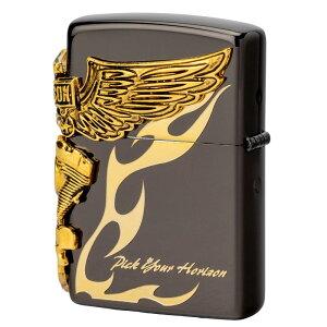 ジッポーハーレーダビッドソンHDP-243面連続加工日本限定ZIPPOジッポライター喫煙具喫煙グッズライダースライダーバイクギフトバイク好きオイルライターおしゃれプレゼントギフト父の日