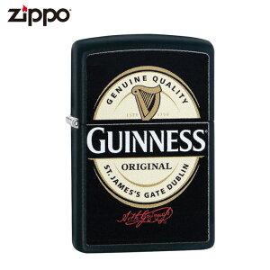 ZIPPO 29755 GUINNESS ギネス ブラックマット ライター ジッポ ジッポー ライター 喫煙具 タバコ 煙草 たばこ