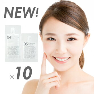For ten times of QUEEN'S BATHROOM skin care sample sets