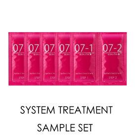 ◎QUEEN'S BATHROOM クイーンズバスルーム システムトリートメント お試しセット 各10g×5回分