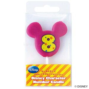 kameyama candle カメヤマ ディズニーキャラクターナンバーキャンドル「8」