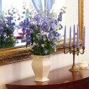 CERAMIC-VASE スクエアフラワーベース IVORY 122-923-310【陶器雑貨 フラワーベース 花器 花びん 花瓶 花材 資材 …